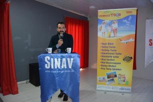 SINAV KOLEJİNİN İLK KARİYER KONUĞU VOYELLE TOUR