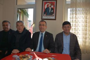 Özcan'dan Sevim'e Hayırlı Olsun Ziyareti