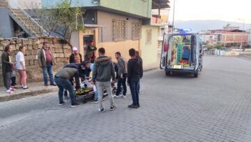 Nazilli'de Motosiklet Kazası; 1 Kişi Yaralandı
