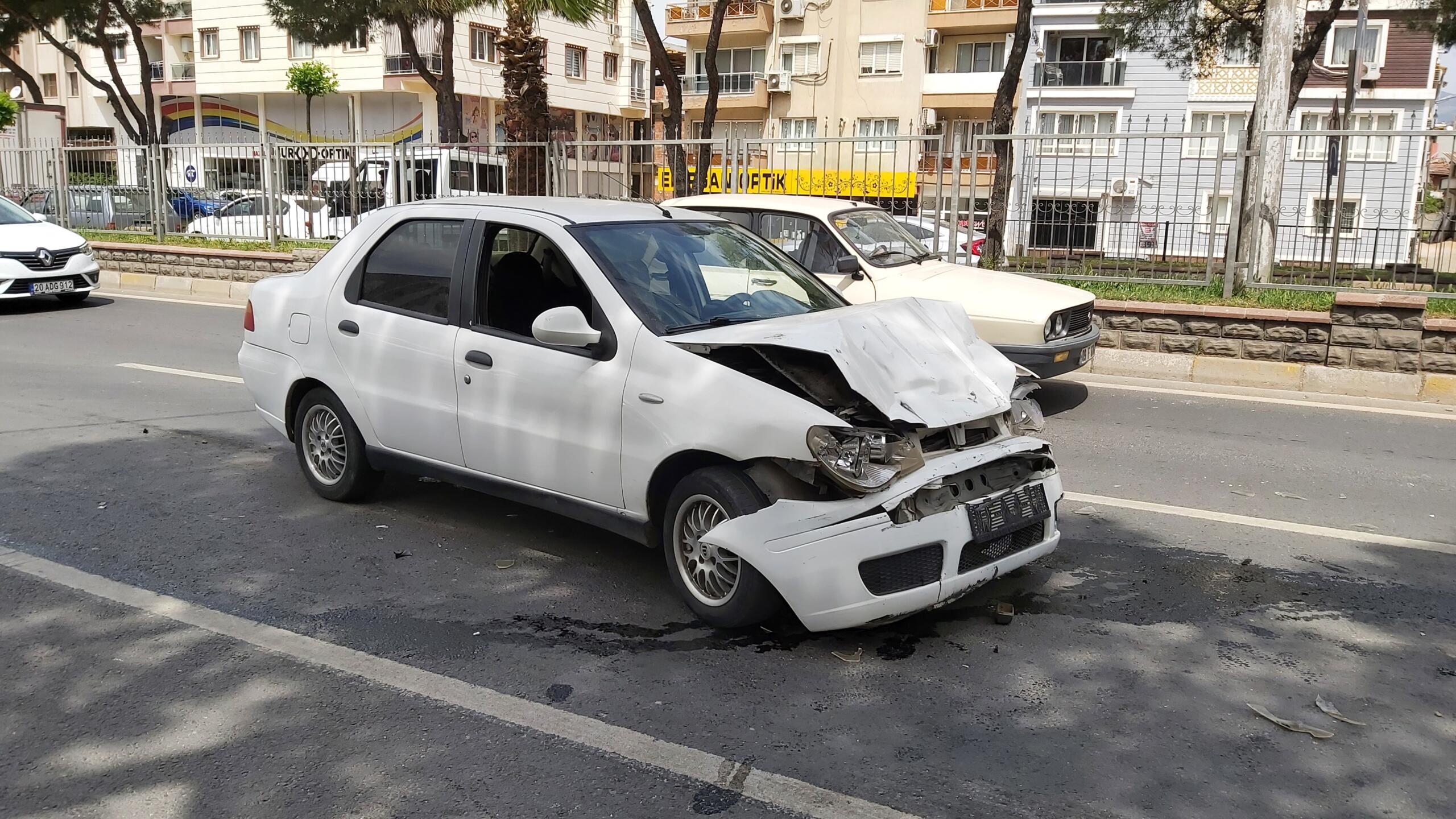 Nazilli'de Korkutan Kaza; 1 Kişi Yaralandı