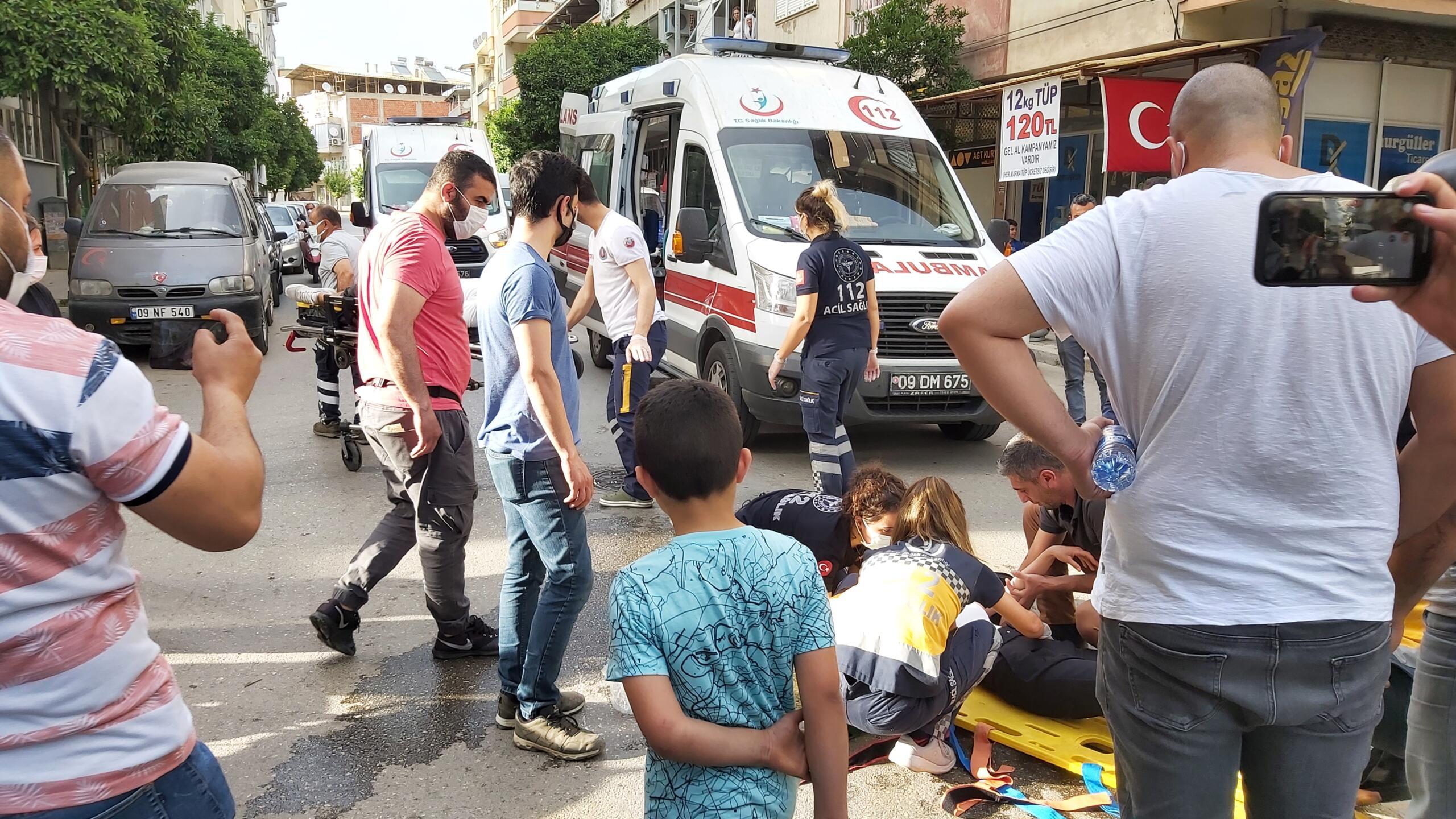 Nazilli'de Feci Kaza; 2 Kişi Yaralandı