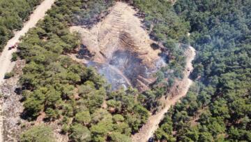 Nazilli'de Çıkan Yangın Büyümeden Kontrol Altına Alındı