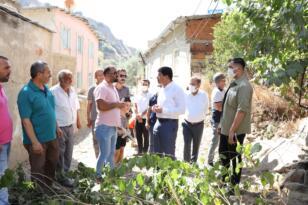Pınarbaşı Mahallesi Sakinlerinden Özcan'a Teşekkür