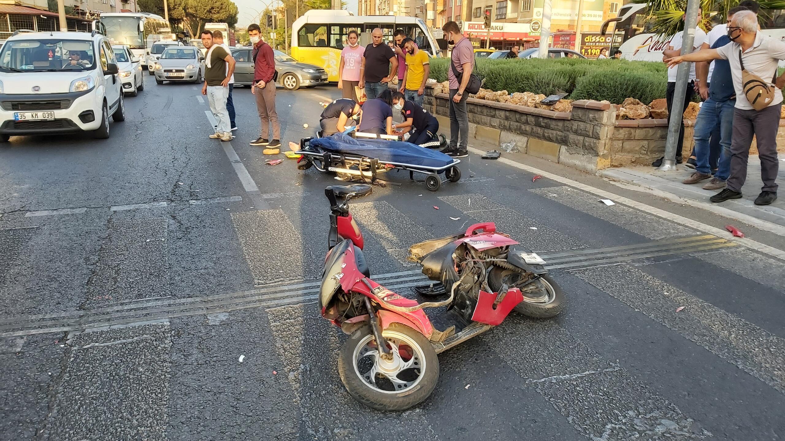 Nazilli'de Feci Kaza; 1 Kişi Ağır Yaralandı