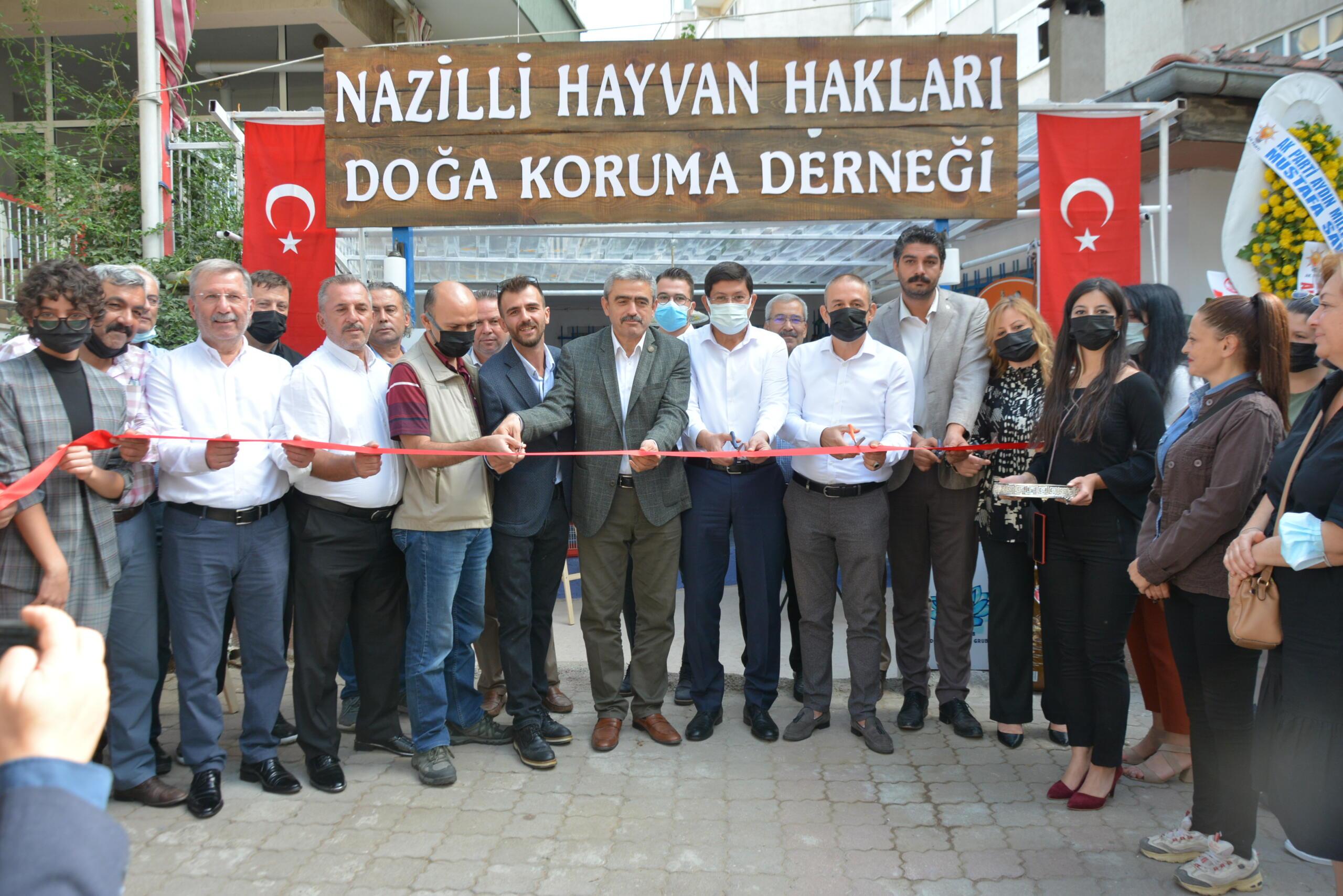 Nazilli'de Hayvan Hakları Doğa Koruma Derneği Açıldı