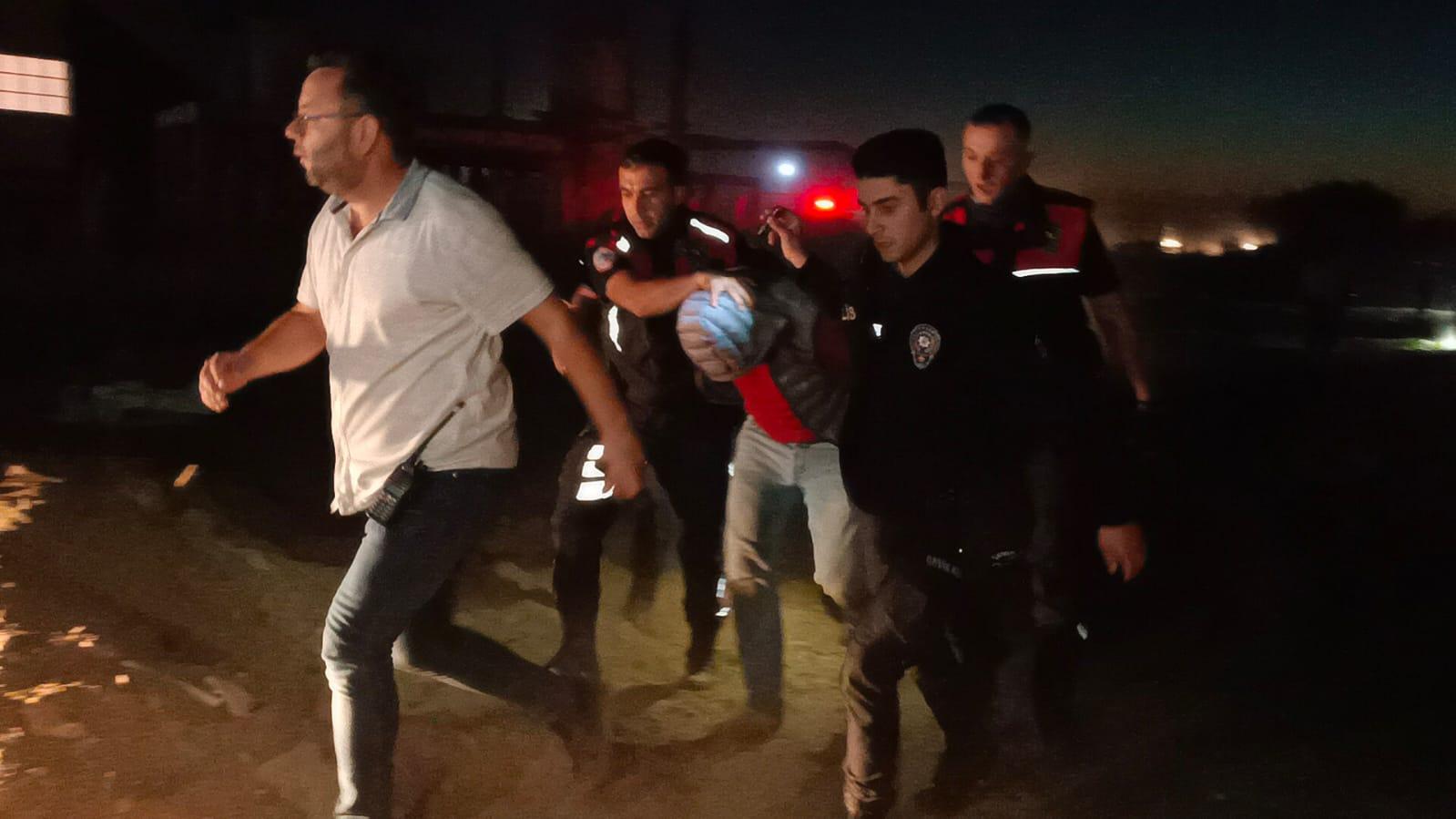 Üç Kişiyi Yaralayan Şehir Mangandası Yakalandı